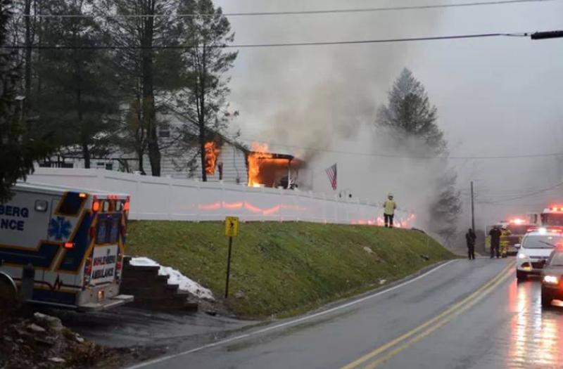 Another Working Fire on Mt Laurel Rd