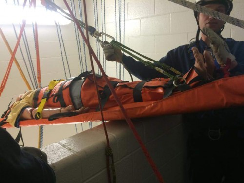 Members Train in Rope Rescue