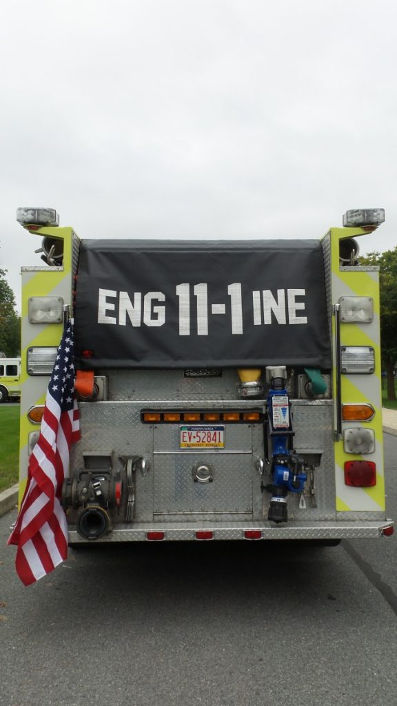 Engine 11-1 Gets New Hose Bed Cover