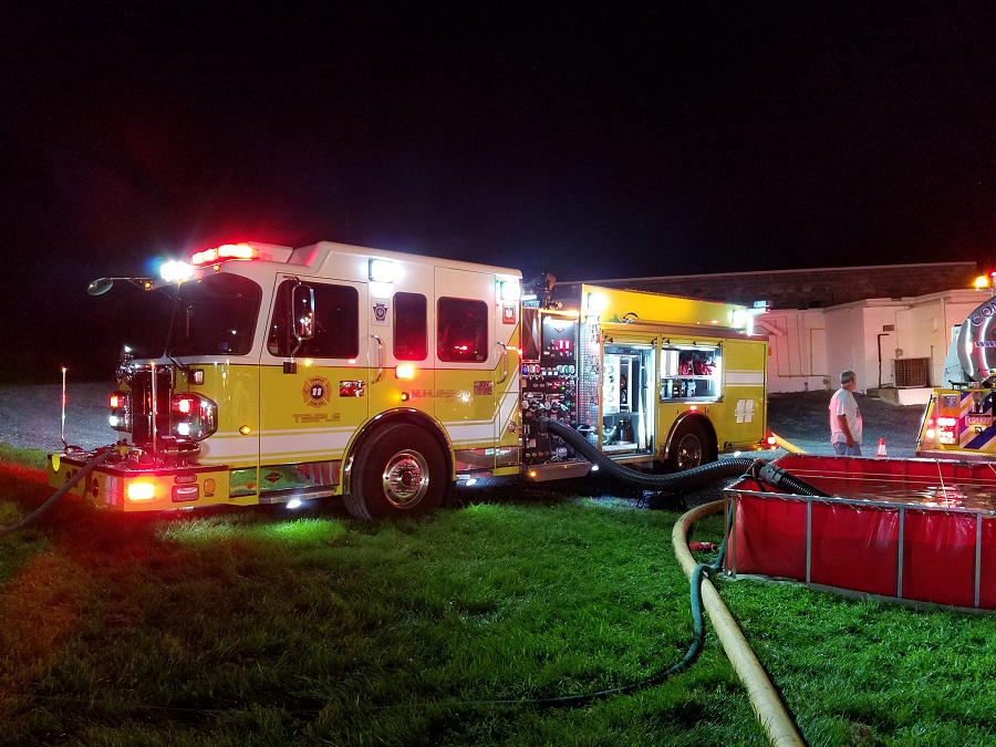 Full Company Response for Working Fire in Richmond Twp