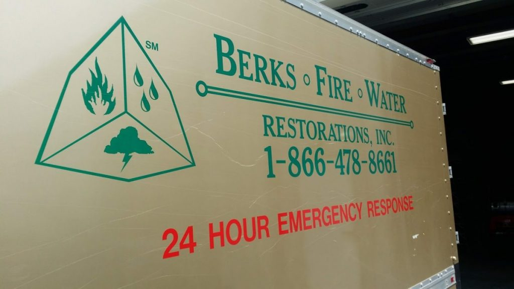 Berks Fire Water Donation