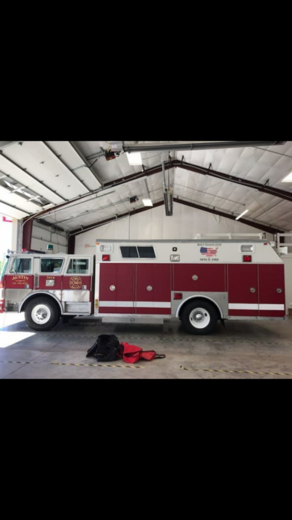 Old Rescue 11 Refurbished in Austin, North Carolina